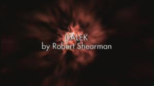 Dalek Title Card