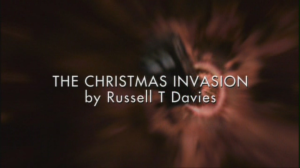 The Christmas Invasion Title Card