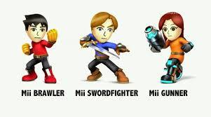 Mii fighters