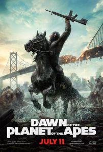 Dawn Apes poster